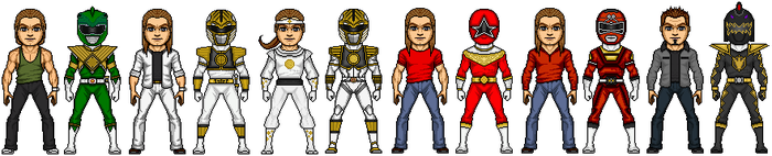 Tommy Oliver by MicroManED