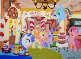 'Fluttershy's Birthday Party' - Complete by ClayInTheCarpet