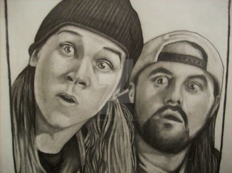 Jay And Silent Bob by StarvingArtist513