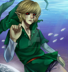 |BEN Drowned| Touch by Cross-Hatch001
