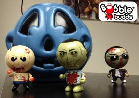 Bobble Budds Zombies! by StateOfTheArt-toys