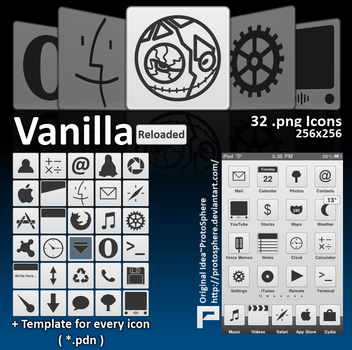 Vanilla Reloaded Icon Pack by iVICIS