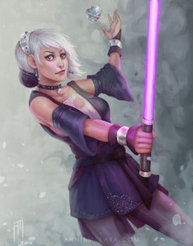 Jedi OC by merely-A