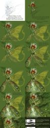 Step to step Green Faery by driany