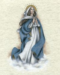 Our Lady of the Assumption by Muko-kun