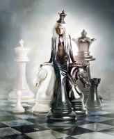Queen of chess by CharllieeArts v1 by FueledbypartII