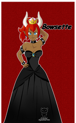 Bowsette Color 2 by cristalaguamarina