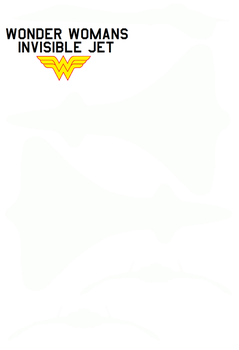 Wonder Woman Invisible jet 2009 film by bagera3005