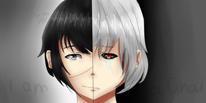 Tokyo Ghoul by nellydrawings