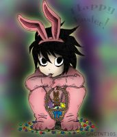 Happy Lawliet Easter by GNGTNT105