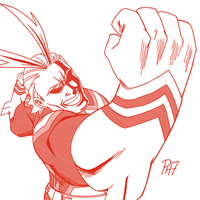 All Might by pencilHead7