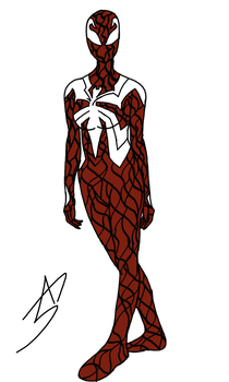 Scarlet-Spider: Symbiote Suit by A5L-Legion