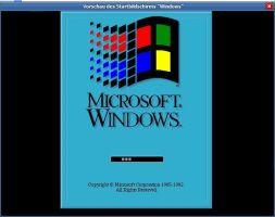 Microsoft Windows Bootscreen by neWTom