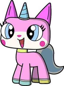 Unikitty in my style, yo by smawzyuw2