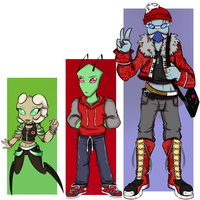 Contest Entry_-_ Para's babies looking awesome by ProjectHalfbreed