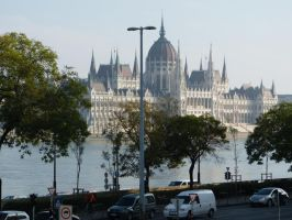 Hungarian Parliament Building VII by setanta5