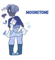 GEM CACHA |  MOONSTONE | by PkWheezing
