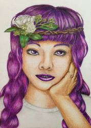 Pretty and Purple by SnailforPresident