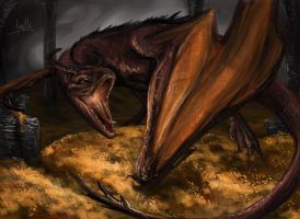 Smaug The Terrible by quinnk