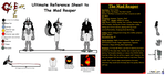 Mad Reaper Ultimate Ref sheet by NightCrestComics