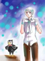APH Ice and puffin by MaryIL
