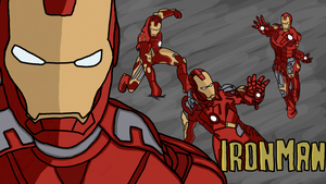 Ironman by Megalomaniacaly