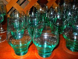 Glass Cups 2 by BornCrazy7189