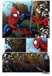 Spiderman page_COLORING SAMPLE by yurixmeister