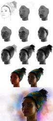 Wrapped Head Process by NuraNooni