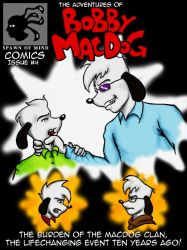 Bobby MacDog Issue 4 Cover by MikeYoungster