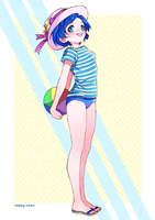 Sailor Mercury Summer Outfit by iamtabbychan