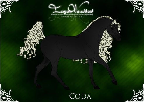 Imperial Stud - Group Horse: Coda by SweetLittleVampire