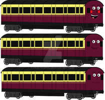 TTTE - The Slip Coaches by Percyfan94