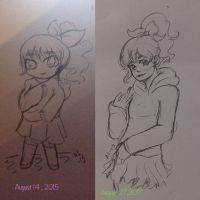 2 Year progress  by Ailizerbee08