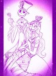 Jack and Sally Hallows Eve by Lily-pily