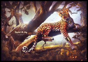 Leopard the king by saritaangel07