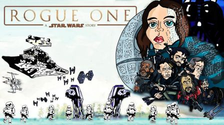 Rogue One Alternative Cover by biel12