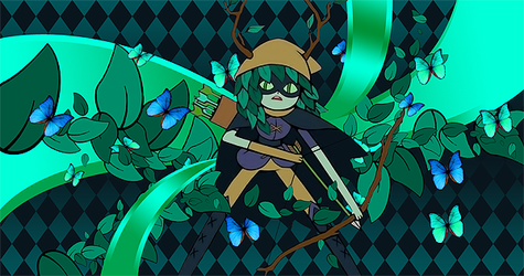 Huntress Wizard - Adventure Time by EntemberDesigns