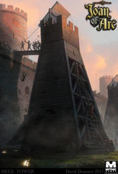Siege Tower by moonxels