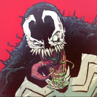 War-face Wednesday: Venom by AndrewKwan