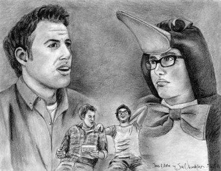 Jake and Amir by AinuLaire