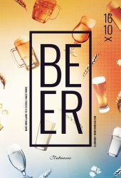 Beer Flyer by styleWish