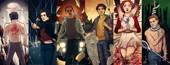 Teen Wolf - Bookmarks by dhauber
