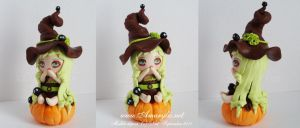 Witch in fimo 04 by Nailyce