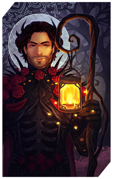 Commission:The dark side tarot by RedlyJester