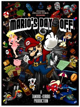Mario's Day Off Movie Poster by insertnamehere85