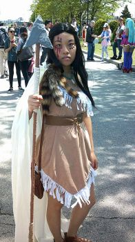 Anime North 2017 - Undead Pocahontas by AnimeLoveAnimeRPer