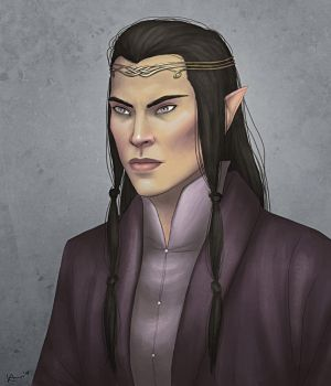 Elrond by karchew