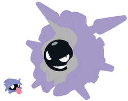 Shellder and Cloyster Base