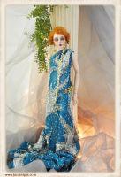 OOAK 20s flapper BJD Ball jointed doll Sutherland by SutherlandArt